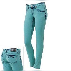 Jade Green Skinny Jeans